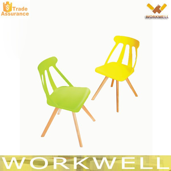 WorkWell high quality cheap outdoor plastic chair dining chair party chair KW-P16