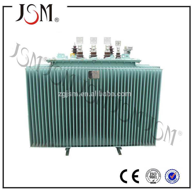 Oil Cooled Distribution oil-immersed power price 3 phase oil immersed transformer
