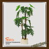 artificial philodendron bonsai plant / artificial potted plants