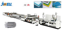 JWELL - non-toxic printed pp corrugated plastic protected tree board extruder machine production line