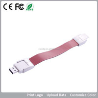 Bracelet 1GB Usb Flash Drives, Custom Leather Usb Bracelet for Promo, Bracelet Pen Drive Usb