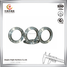 OEM Ductile iron casting pipe fitting flange carbon Steel Pipe Fittings Forged Flange