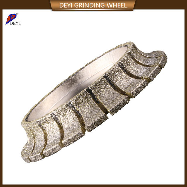 China Beijing manufacturer electroplated diamond profile grinding wheel