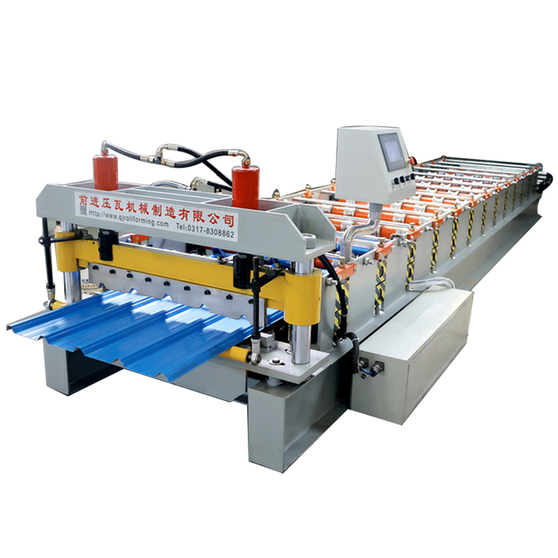 Metal roofing sheet roll forming machine iron roofing sheet making machine