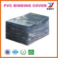 Online wholesale new style note book cover pvc rigid sheet