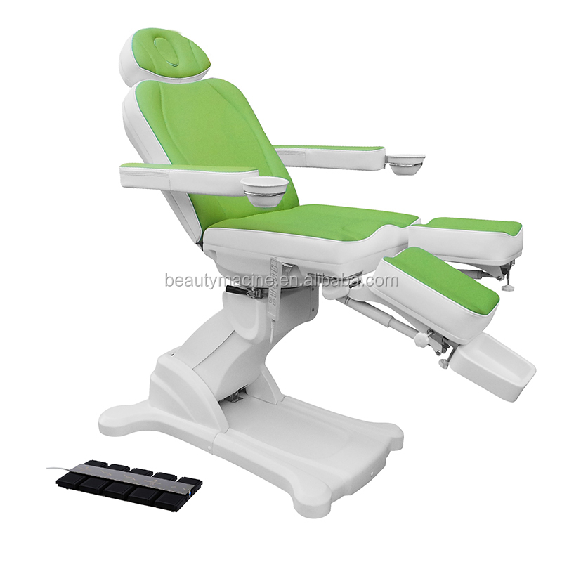 Hot Selling Rotating Spa Massage Bed For Nail Salon Funiture And Foot Massage Toe Care Electric Pedicure Chair