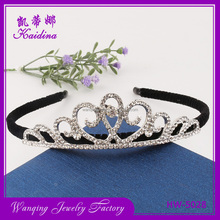 Factory directly fancy bridal hair accessories wholesale crowns and tiaras