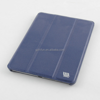 Navy blue formal color pu leather case for ipad mini