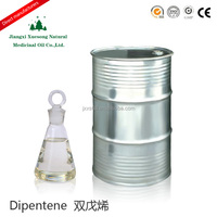 bulk dipentene, limonene used as solvent of rubber regeneration