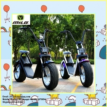 classic popular 60v 1000w battery power electric scooter with front disc brake