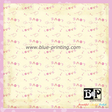 High Quality Printed Pattern Paper for scrapbook