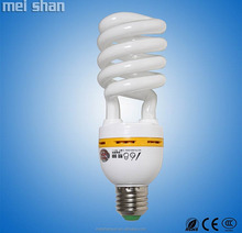 5.5-circuit 85W big sprial lamp tri-phosphor enery saving lamp