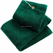 golf towels, cotton rally towel/custom golf ball towels wholesale