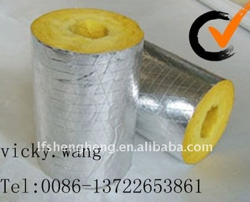 Glass wool pipe exporting sizes