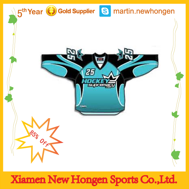 Men`s authentic hockey jersey