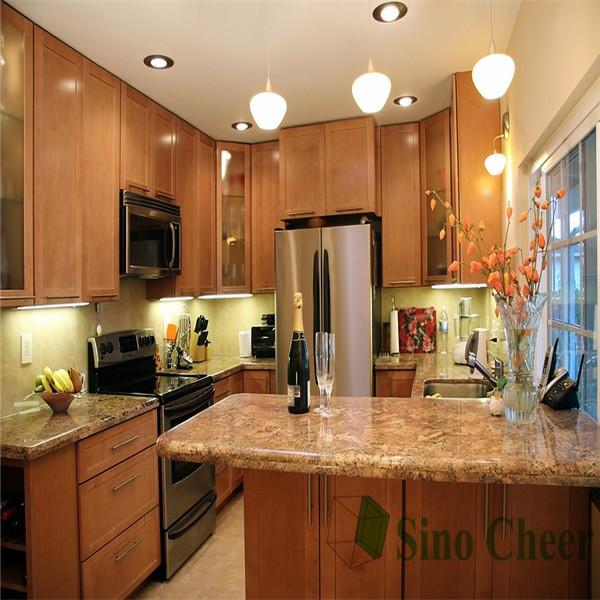 granite custom rectangle shape kitchen islands for sale