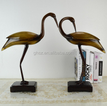 Cutomized Lucky birds couple Wedding display resin material