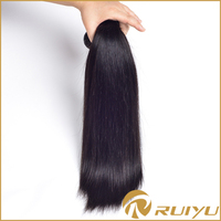 Wholesale top selling silky straight remy indian hair