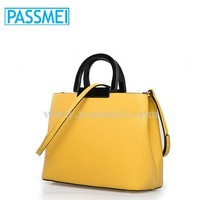 wholesale fashion handbags latest models styles 100% leather ladies handbags and purse