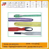 high safety 1 ton polyester round sling/web sling/tow strap