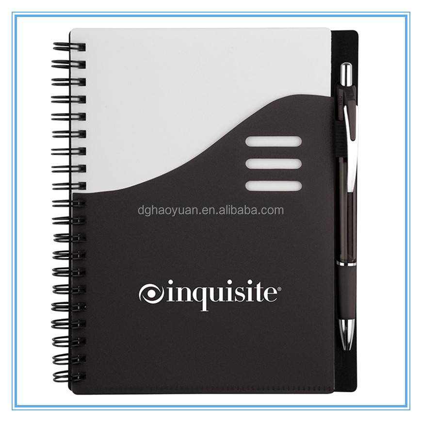 customs a3,a4,a5 notebook.spiral,hardcover,perfect binding,with pene and elastic strap bound