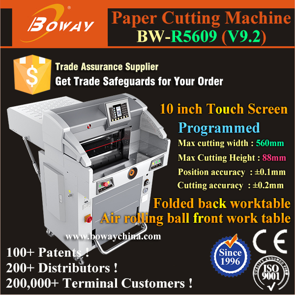 BOWAY manufacturing R5609 Hydraulic paper cutting guillotine blade