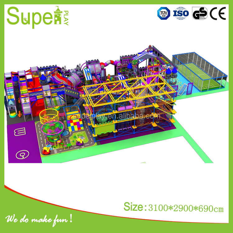 Wholesale space theme large indoor commercial playground <strong>equipment</strong> for kids