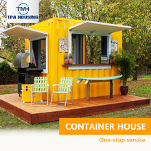 Container Frame Steel Structure Shop Expandable Tiny Prefabricated Container Kitchen Coffee Snack Bar