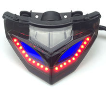 motorcycle parts LED tail lamp tail light modified lamp for kawasaki Ninja 300/250