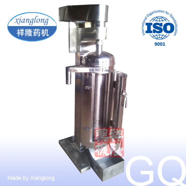 GQ Type Tubular Fat Clarification Centrifuge Separator High Speed
