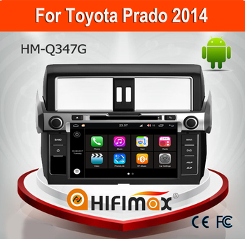 Hifimax Andriod 7.1 Audio Car System For Toyota Prado 2014 (High) Steering Wheel Control With WIFI 3G Canbus