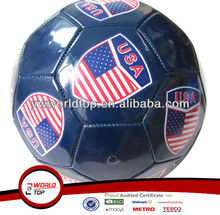 Promotional PVC USA Soccer ball