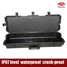 Tricases OEM/ODM crushproof waterproof hard plastic rifle gun case