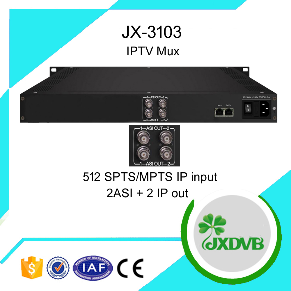 IP HD H.264 VOD IPTV Server Gateway