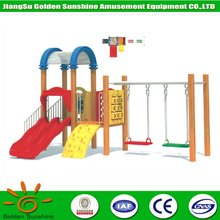 Kids play area amusement park wooden toys,eco-friendly durable outdoor children playground equipment