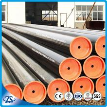 api drill thread types seamless carbon steel pipe with black coating