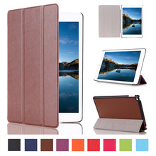 Popular 2015 Hot Sell Tablet Accessories KST Pattern Solid PU Leather Flip Case for Apple iPad Mini4 with Stand Function
