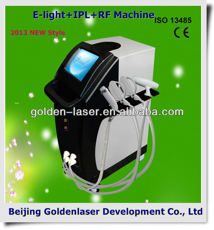 2013 Hot Selling Multi-Functional Beauty Equipment E-light+IPL+RF machine diode laser slimming free cart
