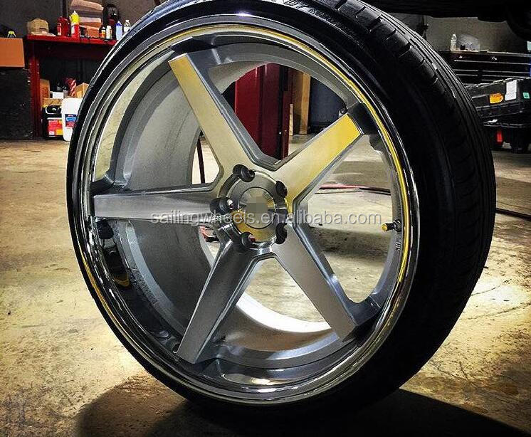 18'' concave vossen cv3 racing forged car wheels