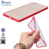 Veaqee 2015 high fashion style tpu flip cover for iphone 4s