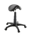 Commercial Furniture Hair Beauty Salon Ergonomic Saddle Stool Styling Chair