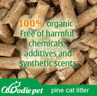 pine wood pellet /wood litter sand with free dusty ,non toxic
