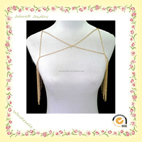 Yiwu Slave body chain, simple gold chain necklace, gold chain necklace designs