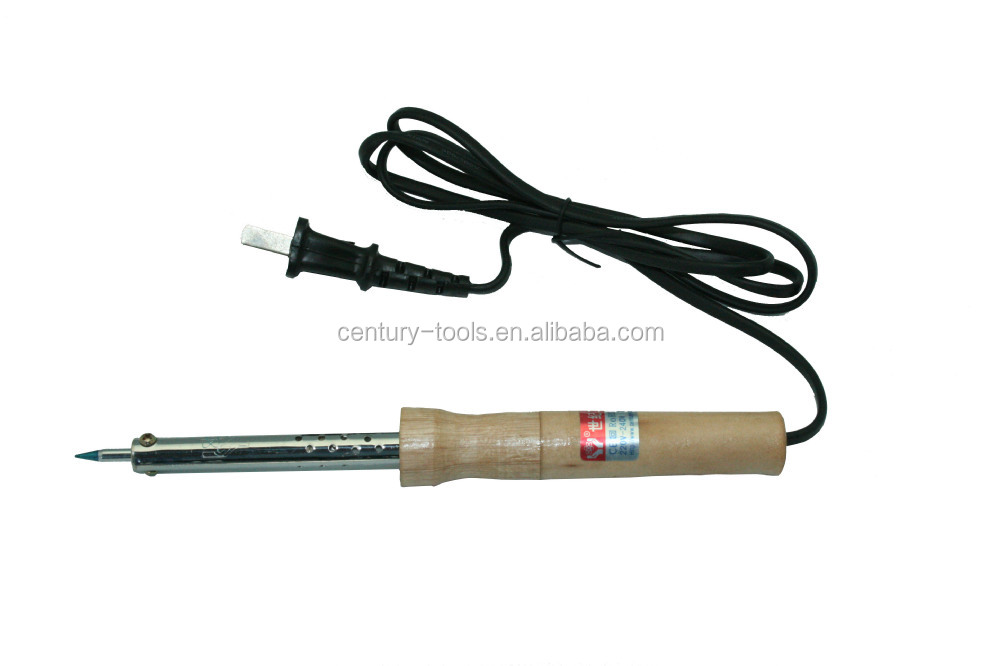 External heat soldering iron