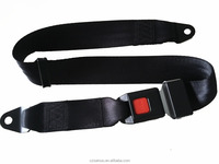 High Quality Simple 2 Point Static Safety Belt/Car Safety Seat belt