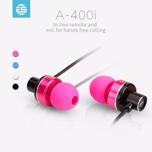 OEM customized promotion silicone 3.5mm Connectors headphones and In-Ear Style earphones