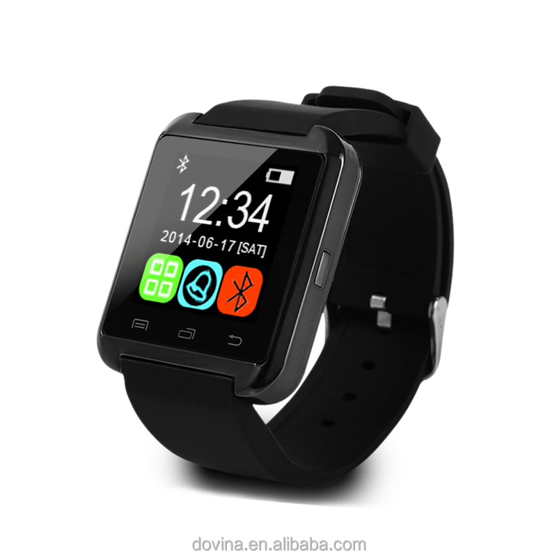 U8 Women men Bluetooth Smart Watch HD Touch Screen Android Wrist Watch for android