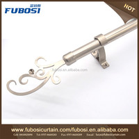 Thick Curtain Rods , Drapery Rod Finial , Double Rod Curtain Hardware