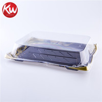 Disposable plastic take away food container packaging sushi tray