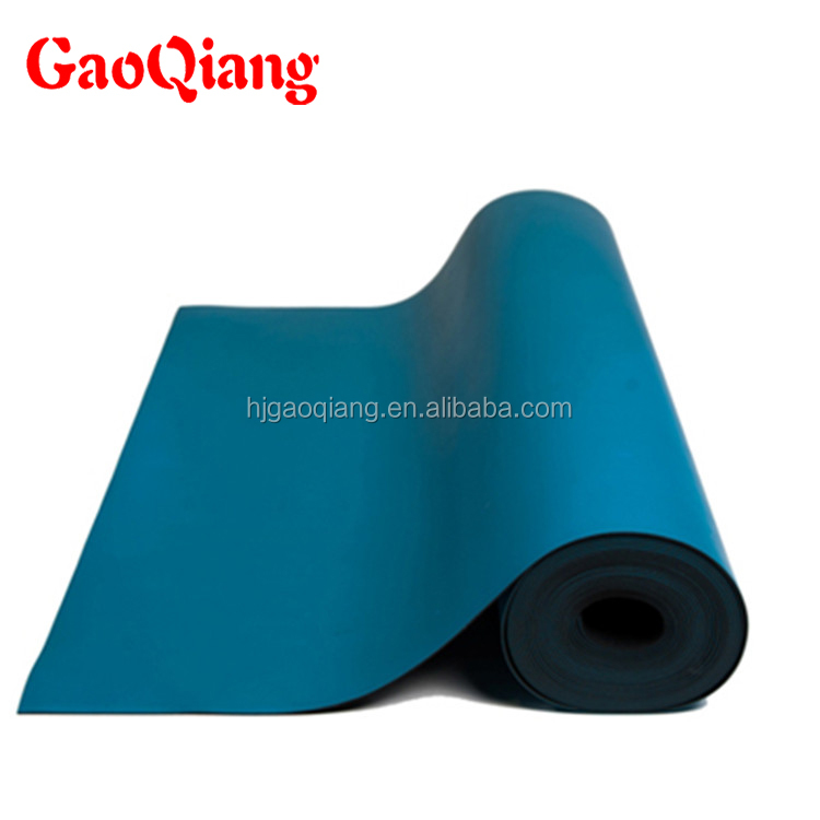 Factory promotional rubber sheet esd table mat